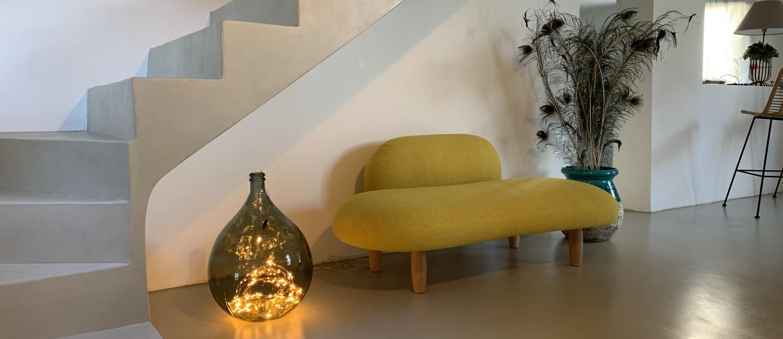 Béton ciré : revêtement sol et murs design