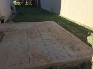 Effet paves carrelage