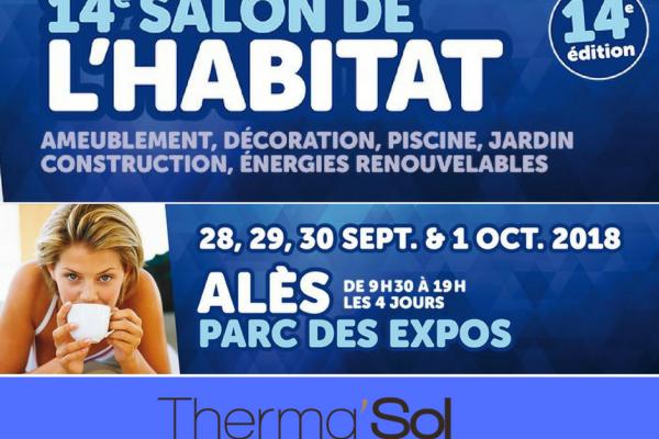 Rendez-vous au 14 ème édition du salon de l'habitat à Alès (2018) !