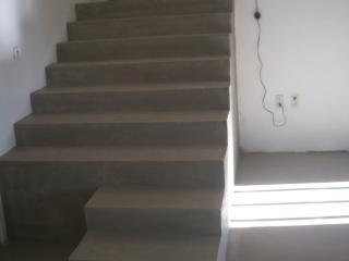 Escalier en Béton ciré moderne
