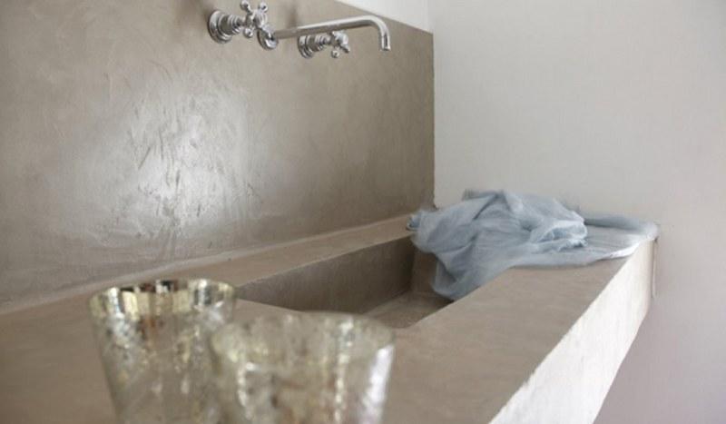 Assez Des salles de bain en béton ciré - Revêtement Béton ciré Nimes (Gard) OJ81